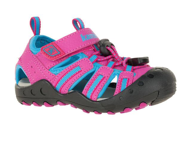 Kamik Crab Sandals Kids Magenta